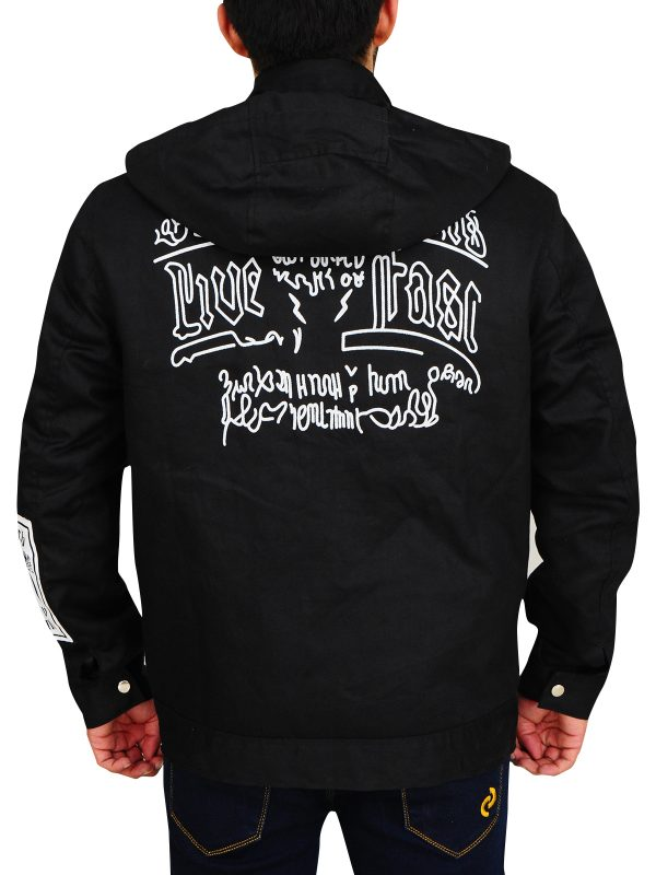 wwe raw wrestler goldberg jacket, goldberg black men jacket,