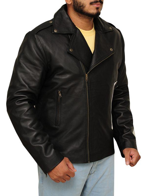 movie jacket, black jacket