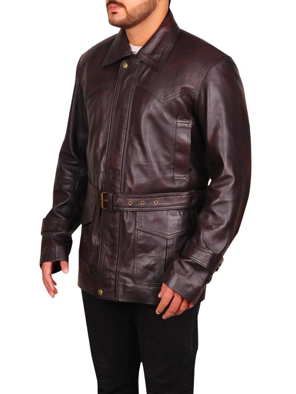 trendy brown leather jacket, brown jacket for men,