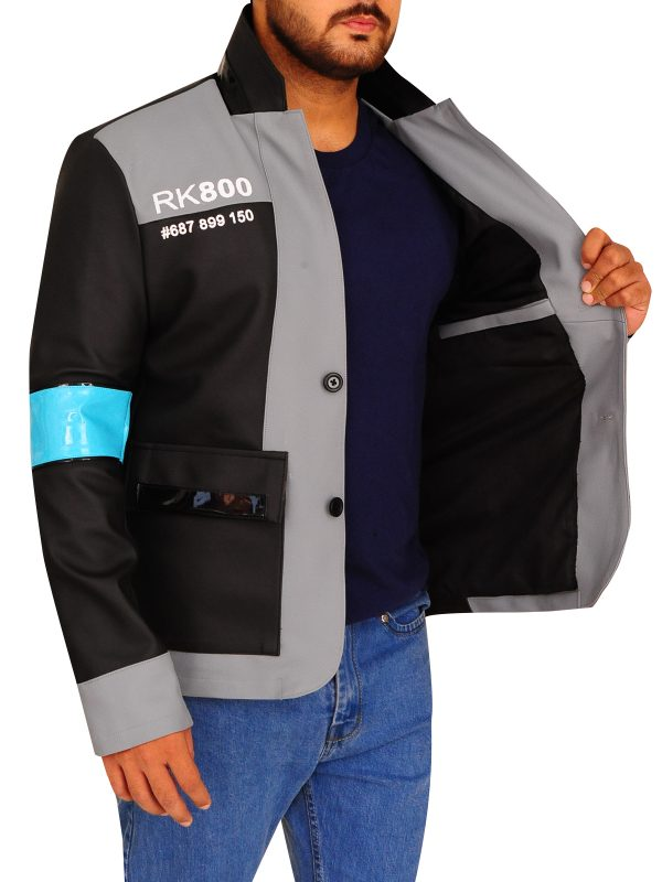 trending game become human jacket, game detriot become human men jacket,