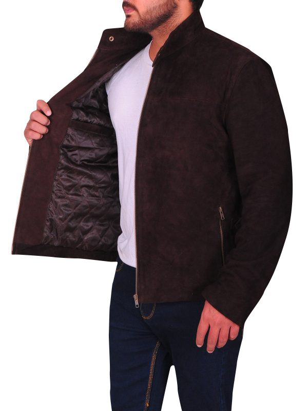 tom cruise suede leather jacket, suede leather jacket for men,