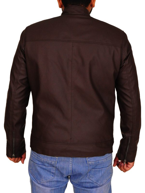 brown leather jacket for boys, men brown leather jacket winter,