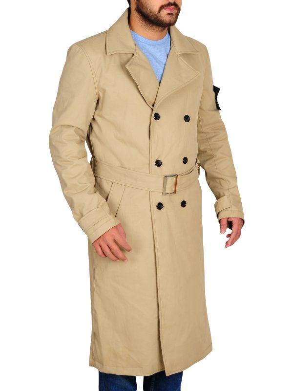office wear brown long coat, men office wear brown long coat,