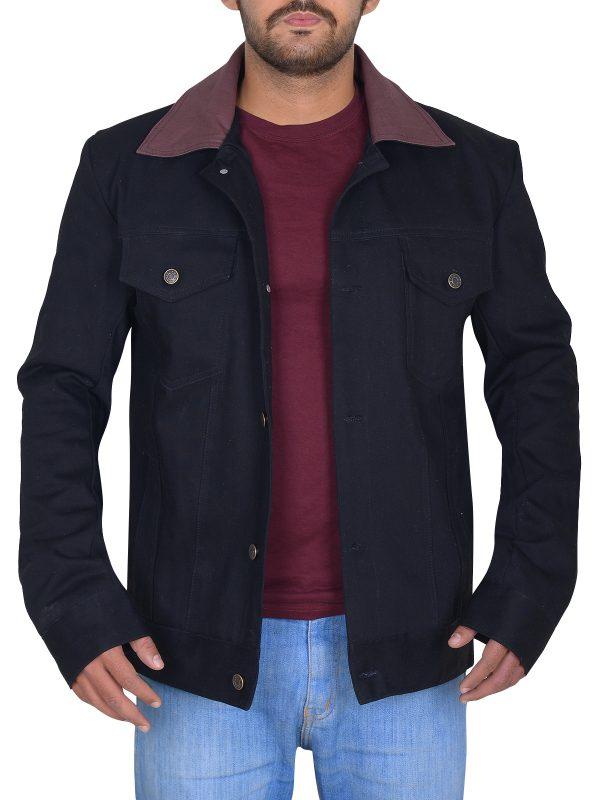 riverdale black jacket, riverdale cole sprouse jacket,