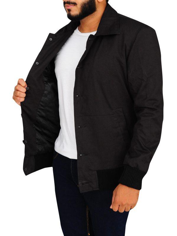 black men cotton jacket, cotton jacket for men,