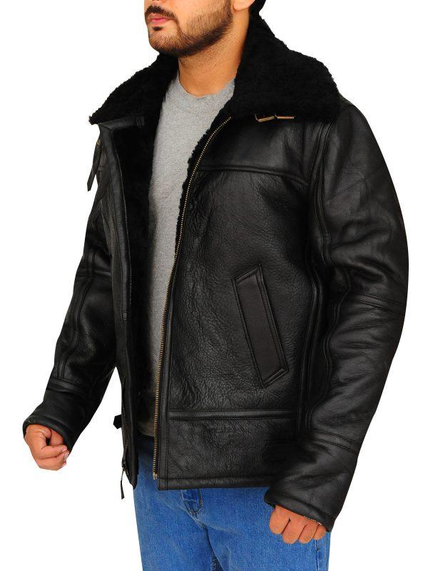 B3 bomber aviator real leather jacket for men, winter sale on bomber men jacket,