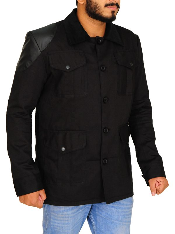 doctor watson sherlock holmes jacket, black serlock holmes series jacket,