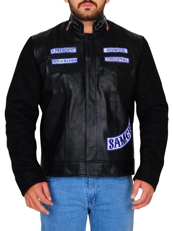 black biker jacket, biker jacket in black color,
