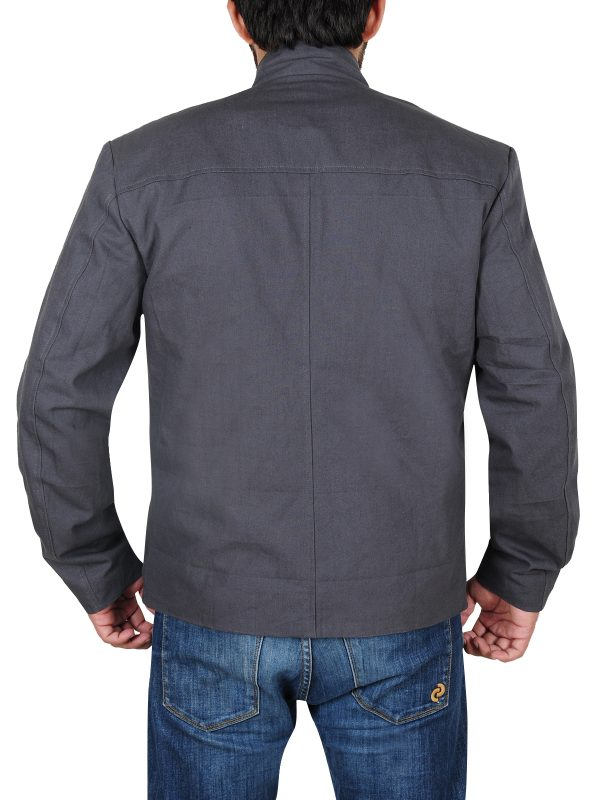 star trek grey jacket, star trek movie jacket,