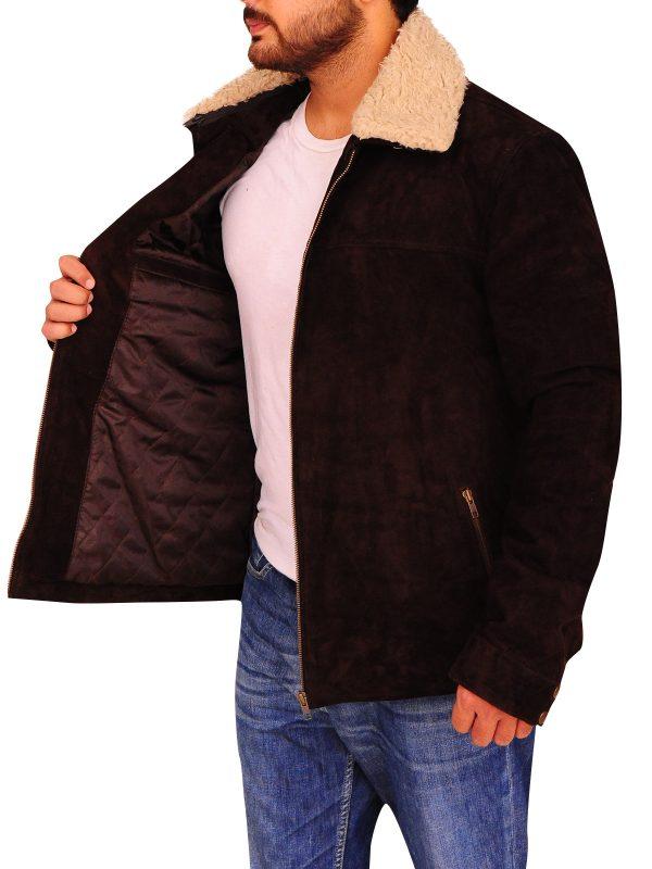 cool brown leather jacket men, men leather jacket,