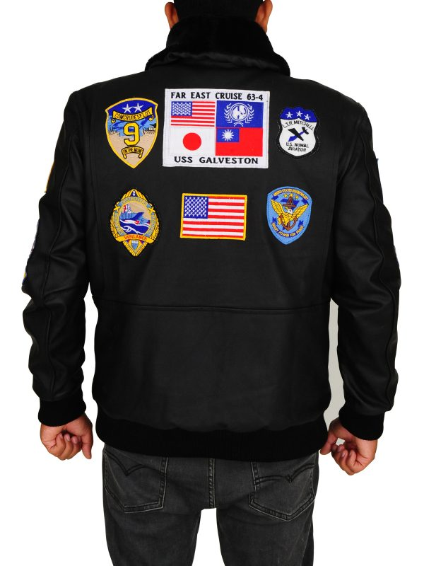 stylish top gun men jacket, top gun men bomber jacket,