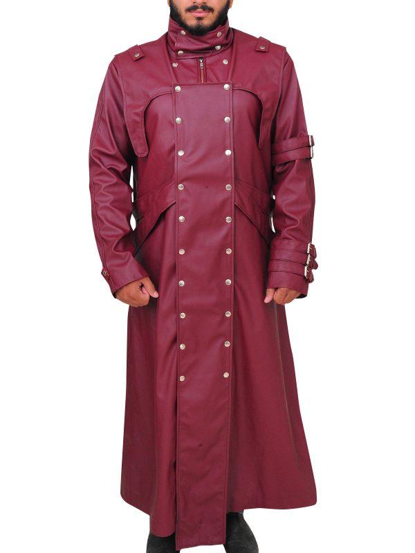trigun vash the stampede leather coat, trigun cosplay vash leather coat,