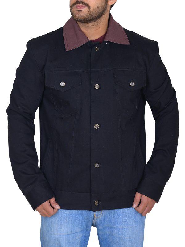 men riverdale jacket, men black riverdale jacket,