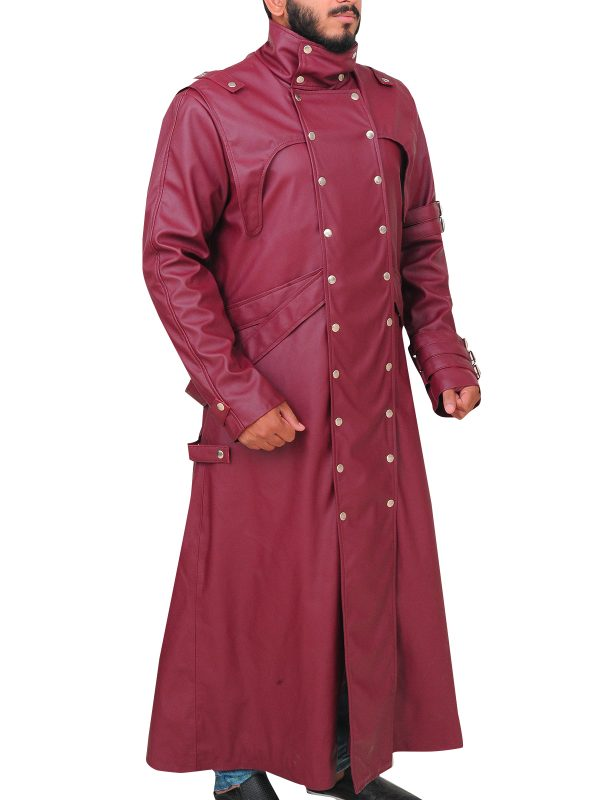 trigun cosplay costume, trigun maroon trench coat,