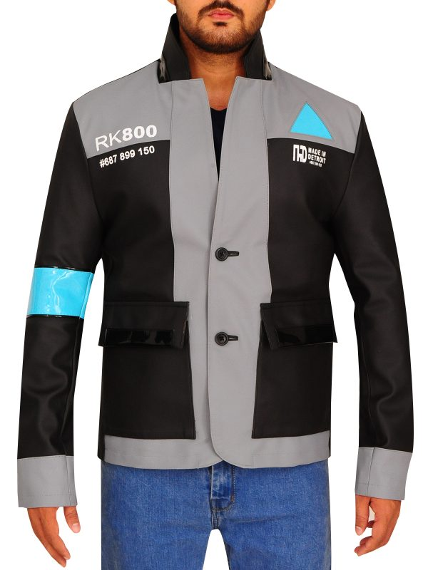 stylish game detriot become human jacket, video game detriot become human jacket,