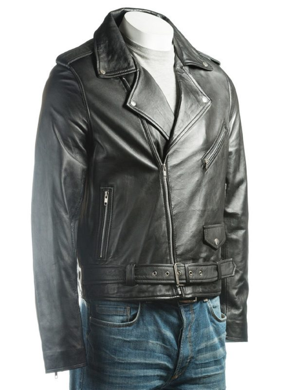 black jacket, black men jacket