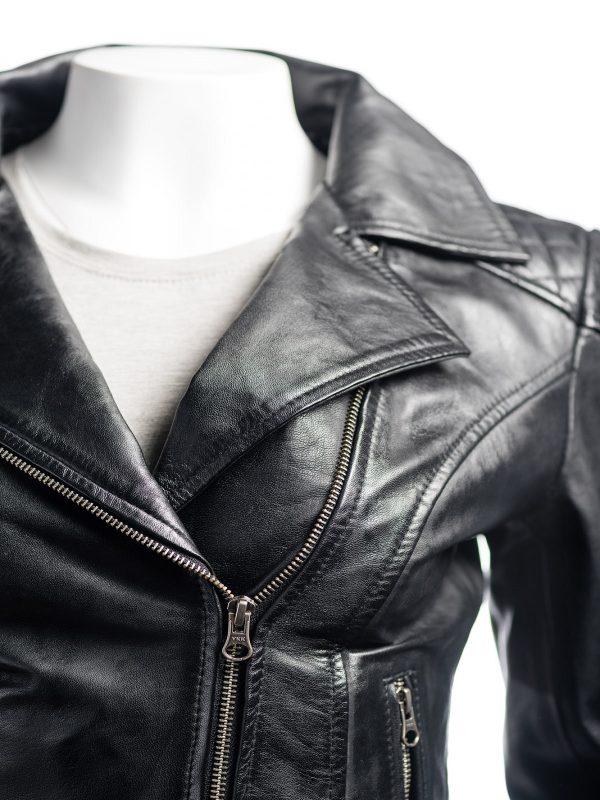 black jacket, pure leather jacket