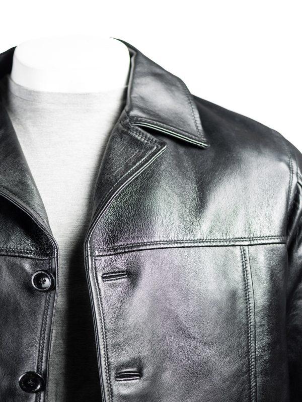 trending jacket, men black jacket