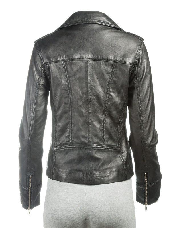 black leather jacket, celeb jacket
