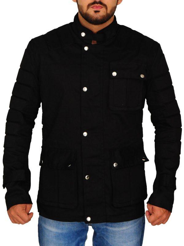 stylsih black men jacket, trending black men jacket,