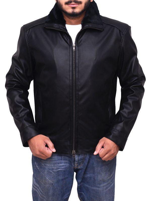 men black leather jacket, boys black leather jacket,
