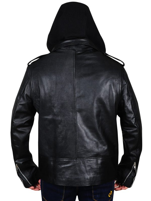 black leather jacket for men, brando leather jacket for men,