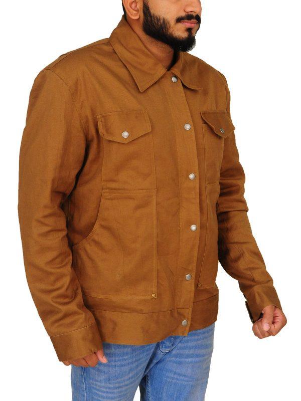 casual wear brown jacket, winter wear brown jacket,