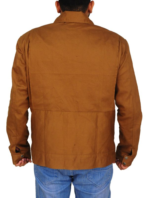 brown cotton jacket for men, brown cotton jacket for boys,