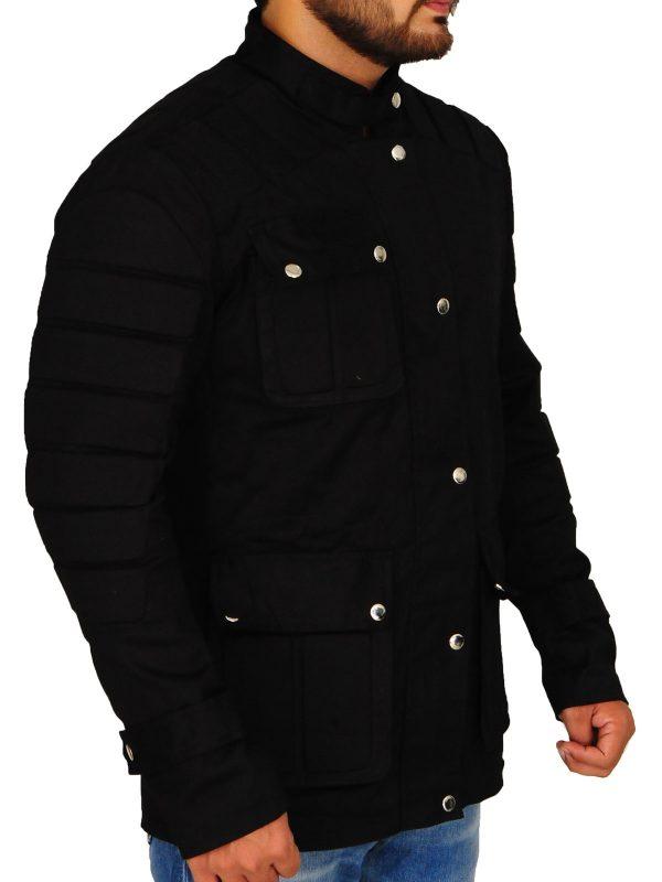 dapper men black jacket, men cool black jacket,