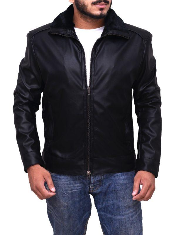 trending black leather jacket, trending leather jacket for men,