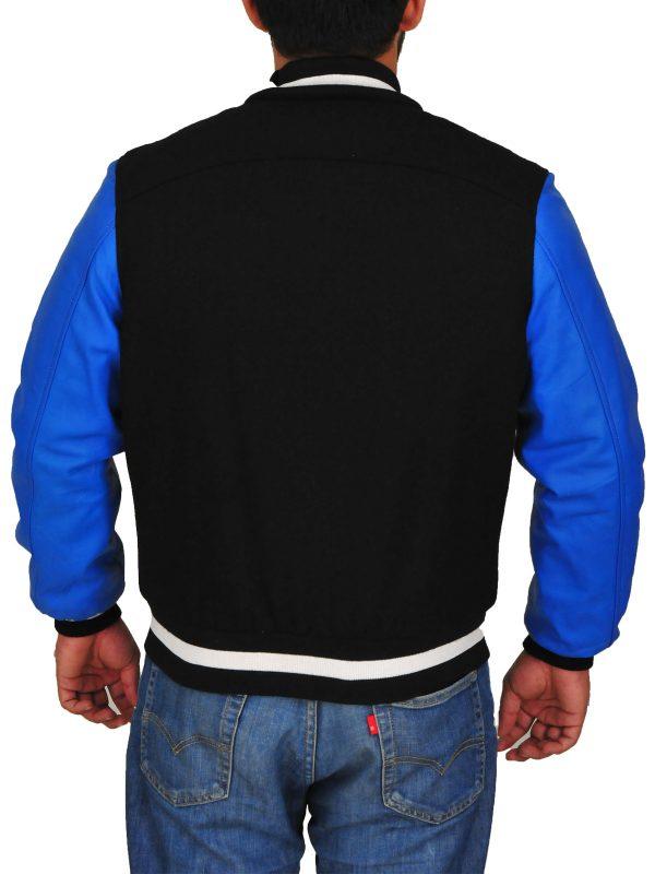 blue men varsity jacket, blue varsity jacket for college boys,