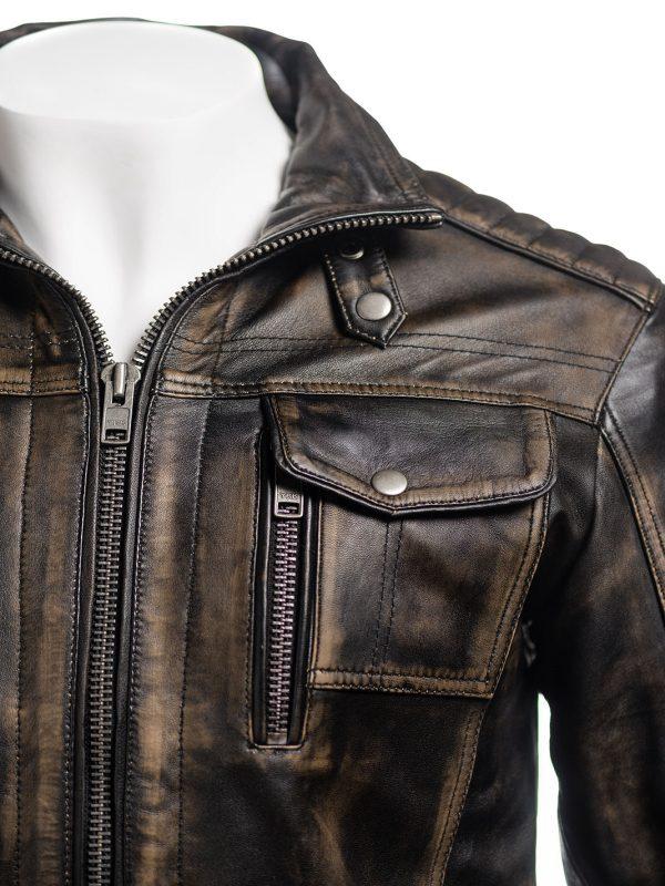 trendy men biker leather jacket, trending men biker leather jacket,