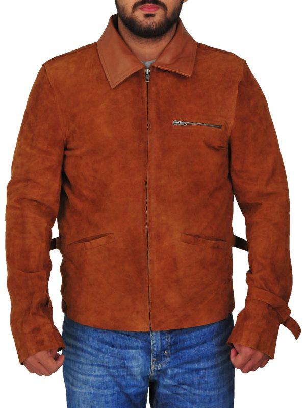 trending suede leather jacket, trending men suede leather jacket,