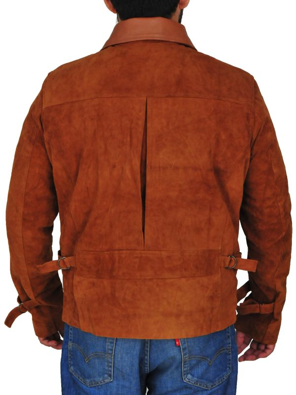 classic suede leather jacket, men classy suede leather jacket,