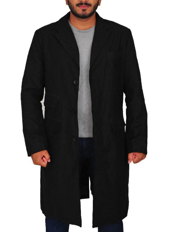 peaky blinders Cillian Murphy long coat, peaky blinder Cillian Murphy black coat,