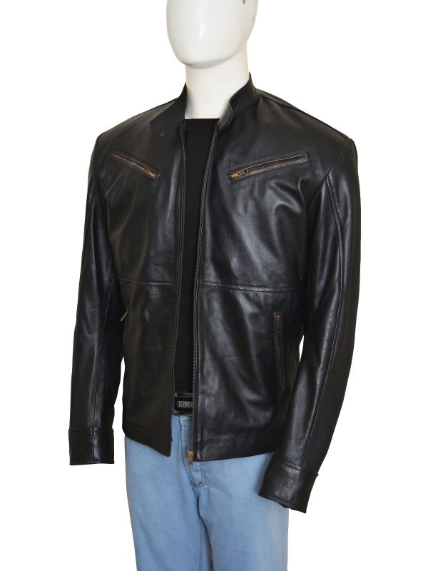 leather jacket for boys, college boys leather jacket,