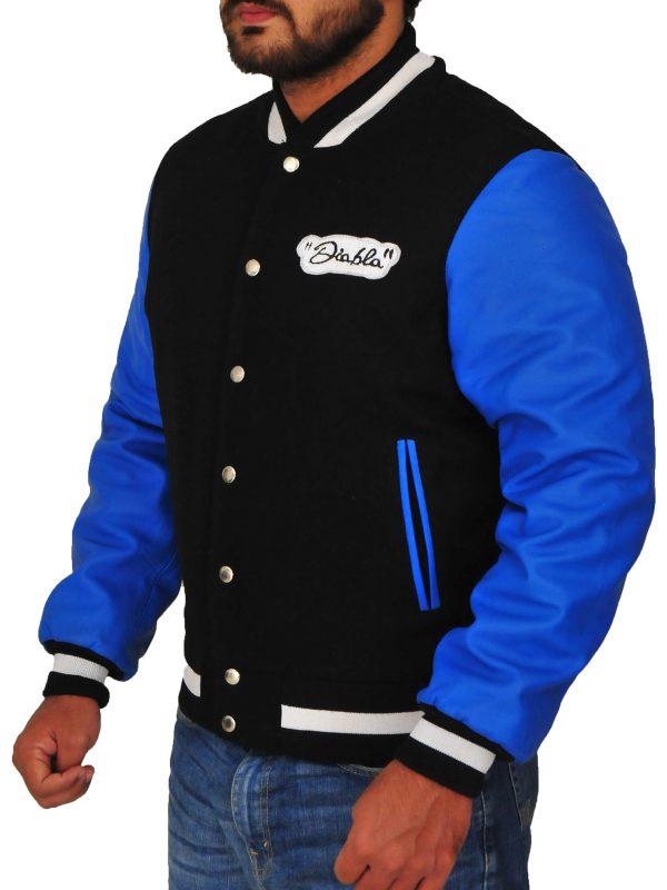 el diablo blue varsity jacket, varsity jackets for men,