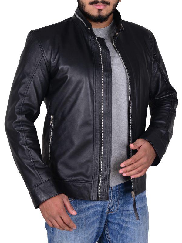 kevin pearson black leather jacket, black leather jacket kevin pearson,