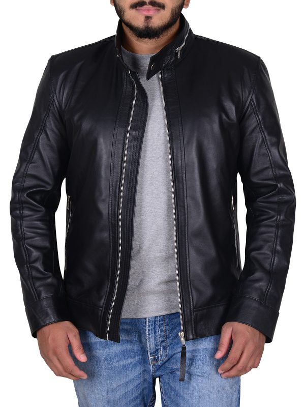 this is us black leather jacket, this is us series leather jacket,