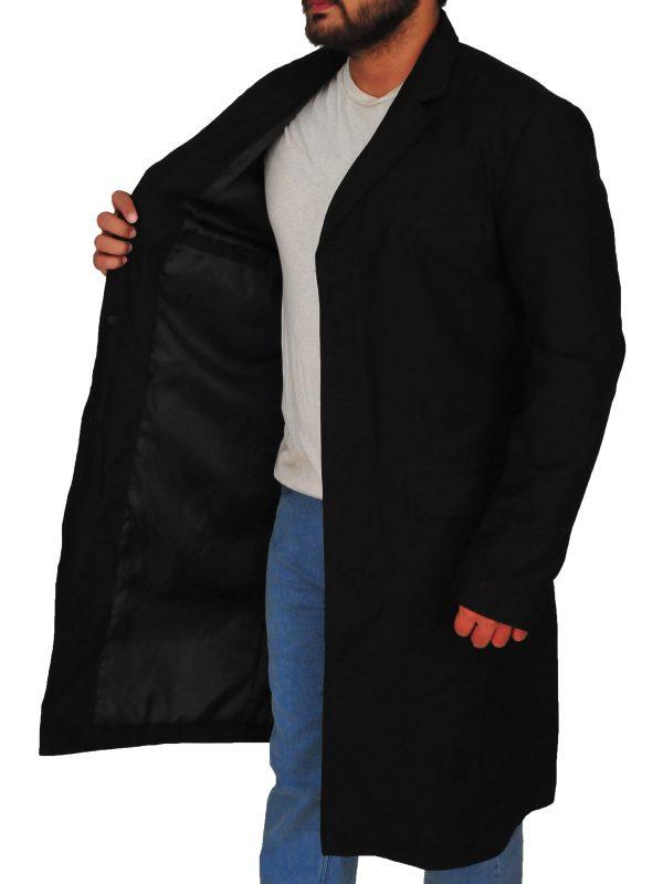 peaky blinders black long coat, peaky blinders thomas shelby black long coat,