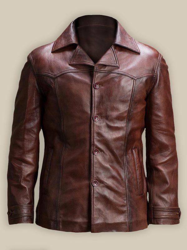 trendy men brown jacket