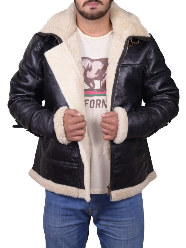 men flying bomber leather jacket, trending black bomber jacket,