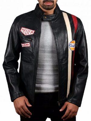 trending black biker leather jacket, black biker leather jacket for men,