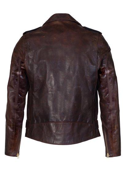 men maroon motorcycle leather jacket, men's brown perfecto brown leather jacket,