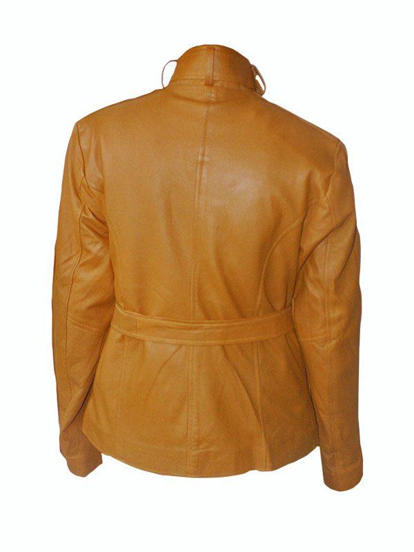 trending brown women leather jacket, women brown biker leather jacket,