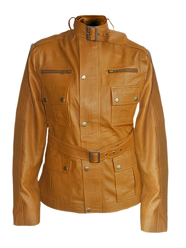 women brown brando leather jacket, brown brando leather jacket,