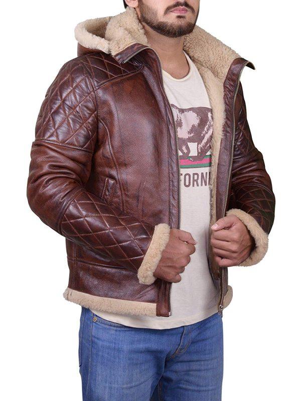 b3 bomber men shearling jacket, b3 bomber men shearling leather jacket,