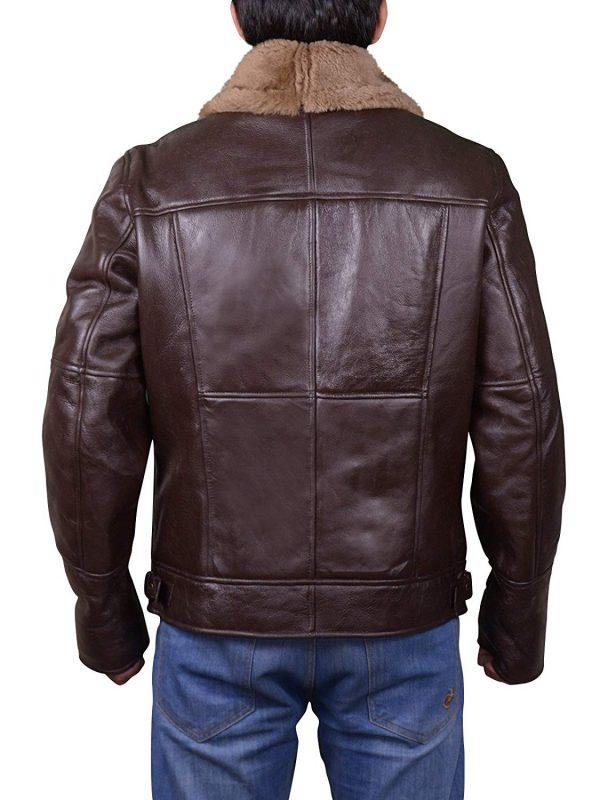 b3 bomber leather jacket for men, b3 bomber shearling jacket for men,