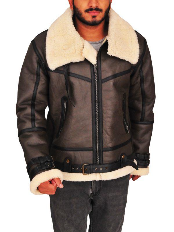 b3 bomber men leather jacket, trending b3 bomber men jacket,