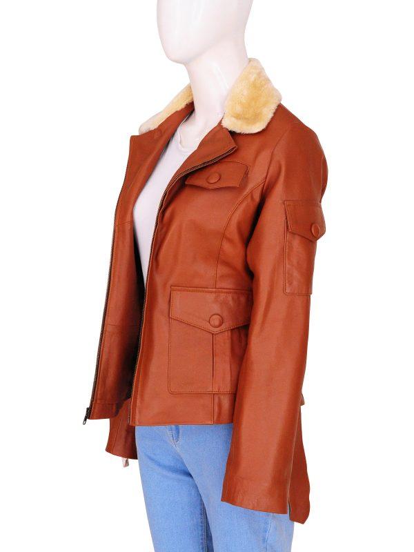 stylish women leather jacket, trending women leather jacket,
